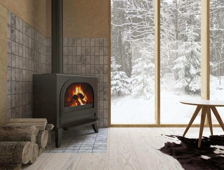 feu de bois chalet-alpin-modernite-authenticite-cabane-ski-fora-architecture-0