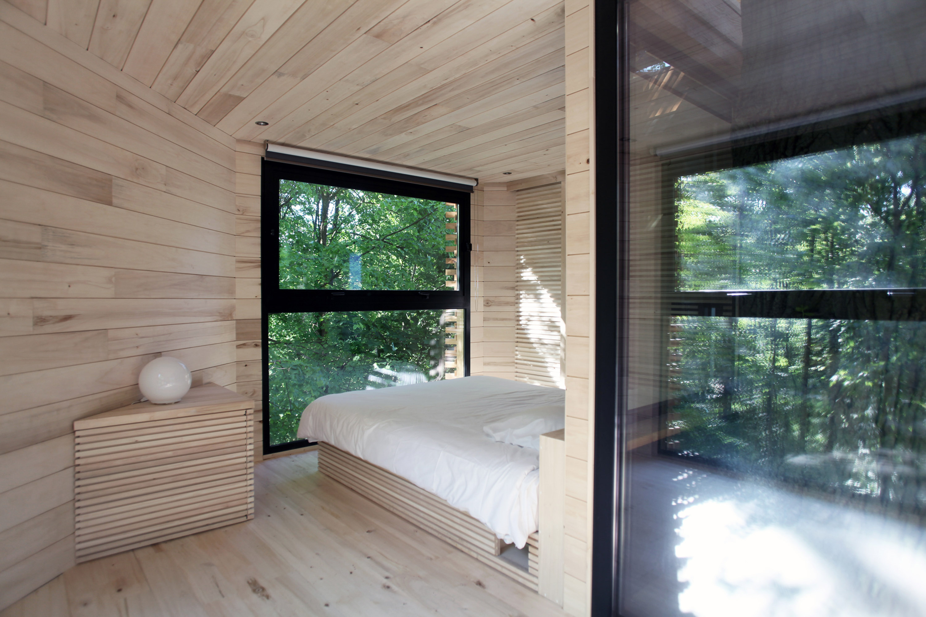 cabane dans les arbres en picardie la mini. Black Bedroom Furniture Sets. Home Design Ideas