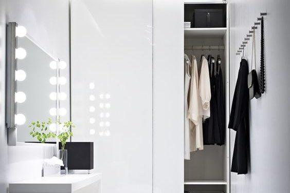 Dressing dans la salle de bain bonne mauvaise id e for Dressing dans salle de bain humidite