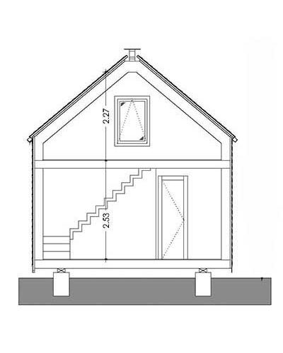 vivre en famille dans une petite maison de 64m2 la mini. Black Bedroom Furniture Sets. Home Design Ideas