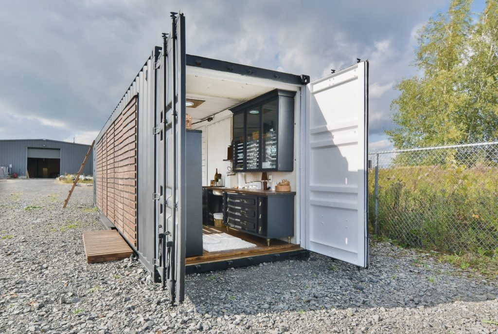 Maison container a vendre interesting delightful maison for Combien coute un conteneur